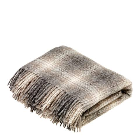Bronte by Moon Brown Ombre Throw