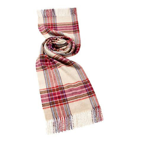 Bronte by Moon Pink/Red Buckden Scarf