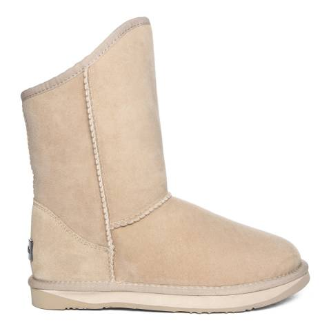 Australia Luxe Collective Sand Suede Cosy Short Boots
