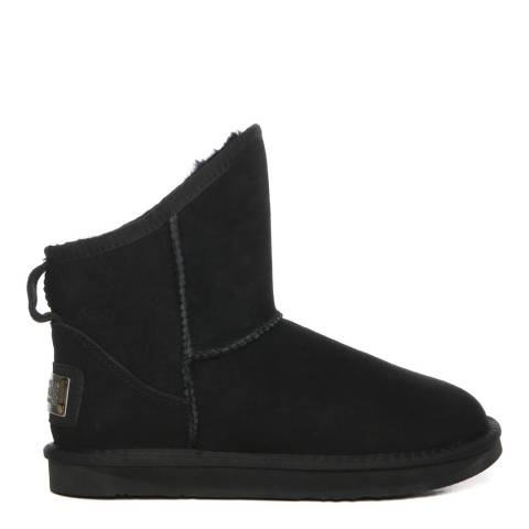 Australia Luxe Collective Black Suede Cosy X-Short Boots