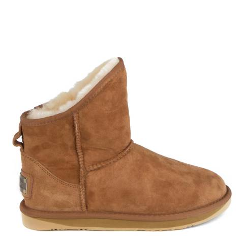 Australia Luxe Collective Chestnut Suede Cosy X-Short Boots
