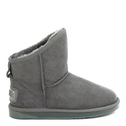 Australia Luxe Collective Grey Suede Cosy X-Short Boots