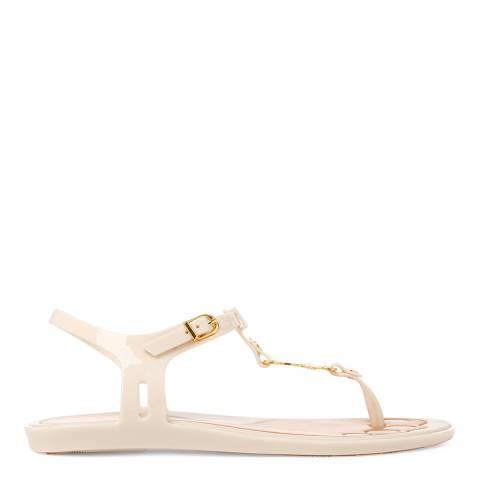 Vivienne Westwood for Melissa Ivory Solar Orb Sandals
