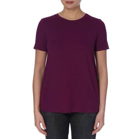 EILEEN FISHER Pink Round Neck Jersey T-Shirt