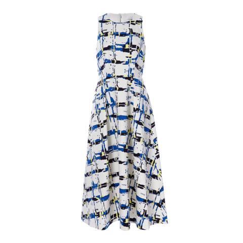 L K Bennett Multi Print Queenie Dress