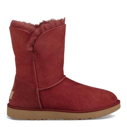 UGG Redclay Suede Classic Cuff Short Boots