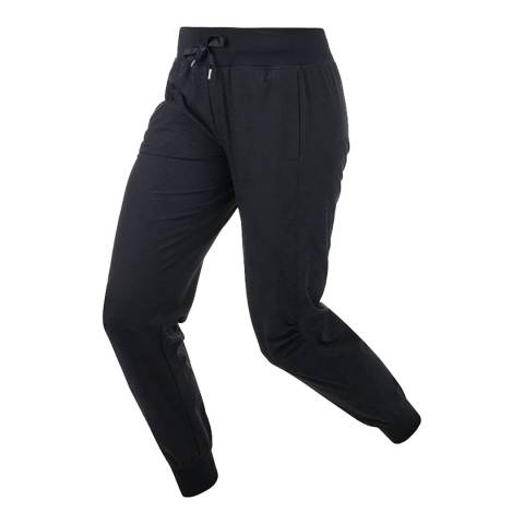 Lorna Jane Black Electric Palm Active Pant