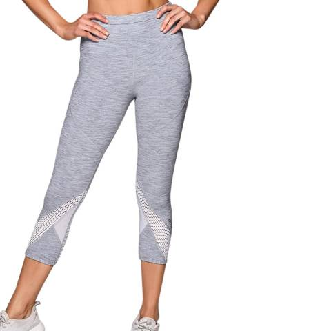 Lorna Jane Grey Enhanced Stability 7/8 Tight