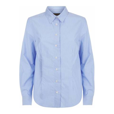 Jaeger Light Blue Pinstripe Shirt
