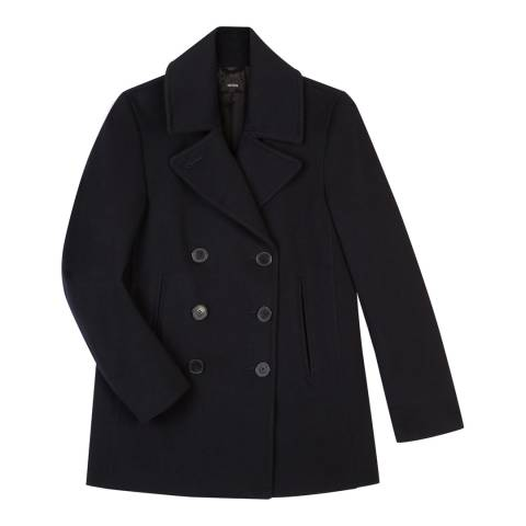 Tricouni Navy Wool Peacoat