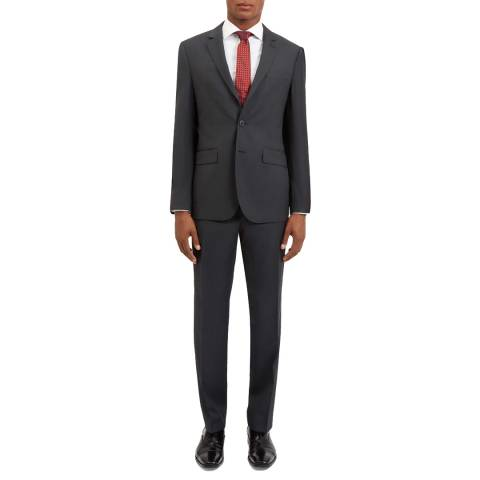 Jaeger Charcoal Birdseye Regular Suit