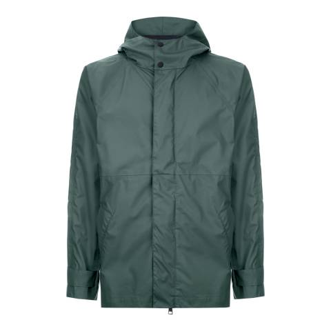Jaeger Khaki Seam Sealed Hooded Mac