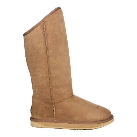 Australia Luxe Collective Chestnut Suede Cosy Tall Boots