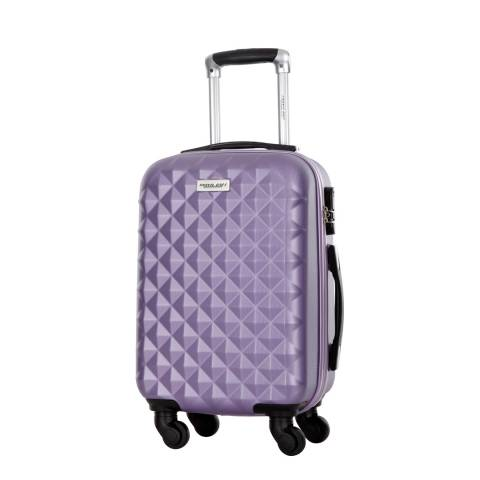 Travel One Purple Edison Spinner Suitcase 55cm