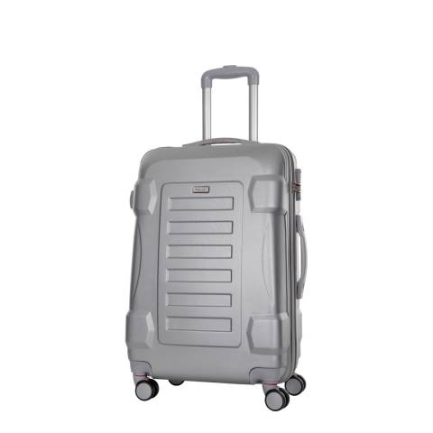 Travel One Silver Linden Spinner Suitcase 50cm