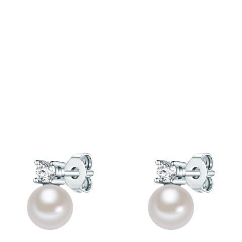 Carat 1934 Silver/Pearl Earrings