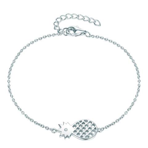 Tess Diamonds Silver Pineapple Bracelet