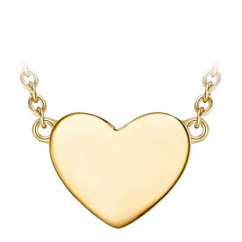 The Pacific Pearl Company Gold Heart Necklace