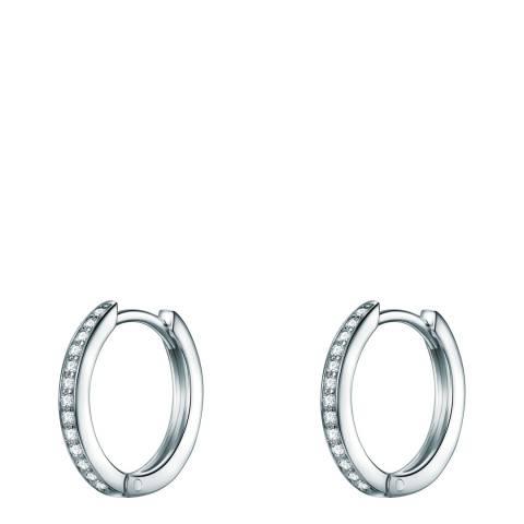 Carat 1934 Silver Hoop Earrings