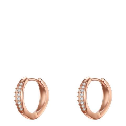 Carat 1934 Rose Gold Hoop Earrings