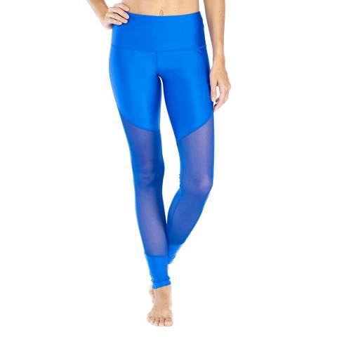 Electric Yoga Blue Meshy Leggings