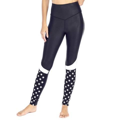 Electric Yoga Black/White Star Struck Legging