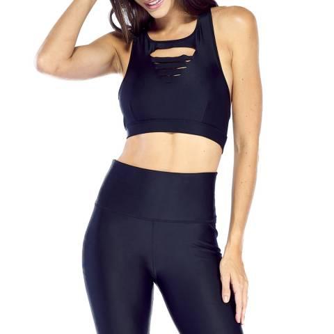 Electric Yoga Black Slash Bra