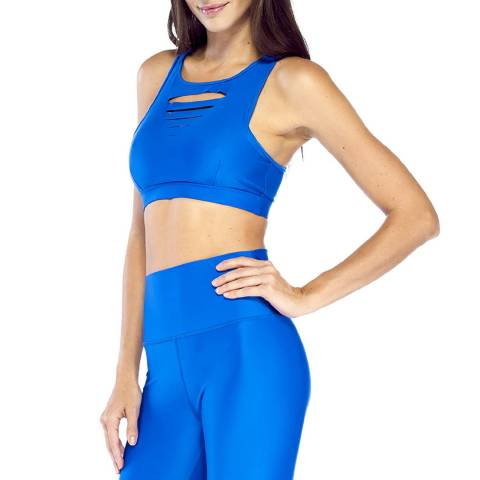 Electric Yoga Blue Slash Bra