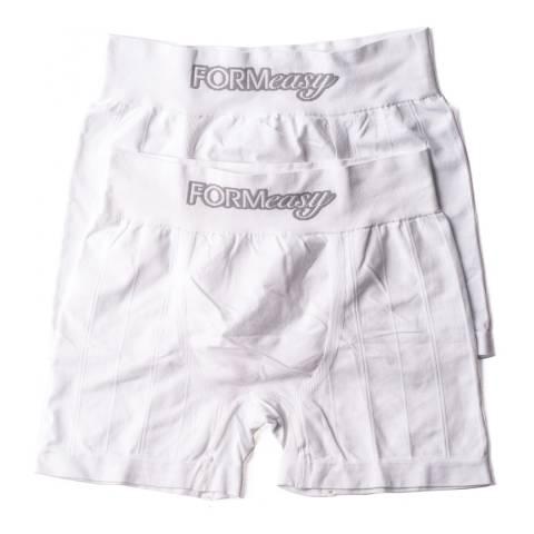 Formeasy Men's Black/White Pack x2 Boxers