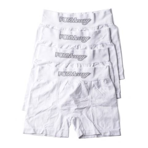 Formeasy Men's White Pack x4 Boxers