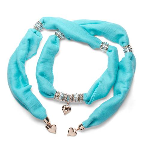 BiBi Bijoux Turquoise Charm Scarf
