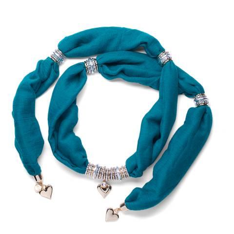 BiBi Bijoux Blue Charm Scarf