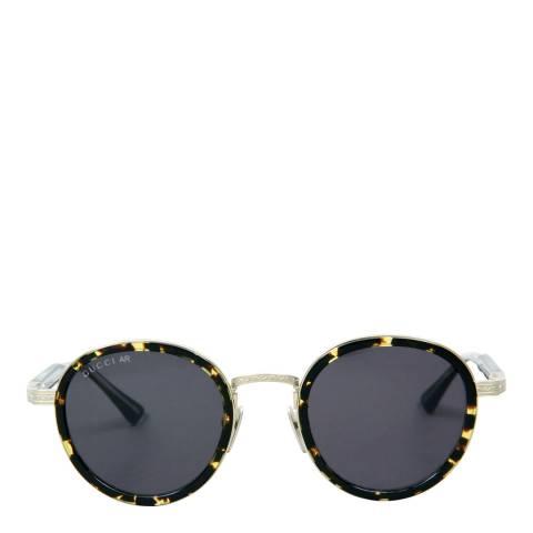 Gucci Women's Brown/Gold/Black Sunglasses 48mm