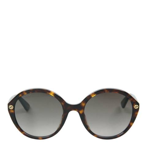 Gucci Women's Brown Sunglasses 55mm