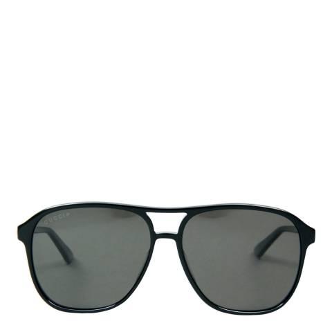 Gucci Men's Black Sunglasses 58mm