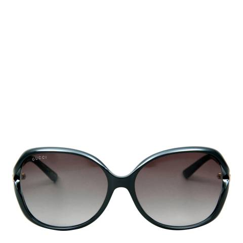 Gucci Womens Black/Grey Gucci Sunglasses 60mm