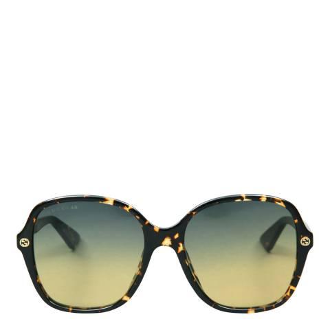 Gucci Women's Brown Sunglasses 55mm