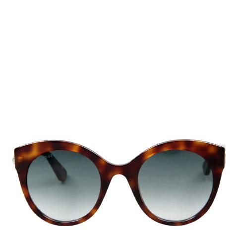 Gucci Women's Brown Sunglasses 52mm
