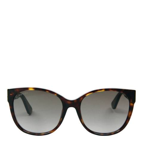 Gucci Women's Brown Sunglasses 56mm
