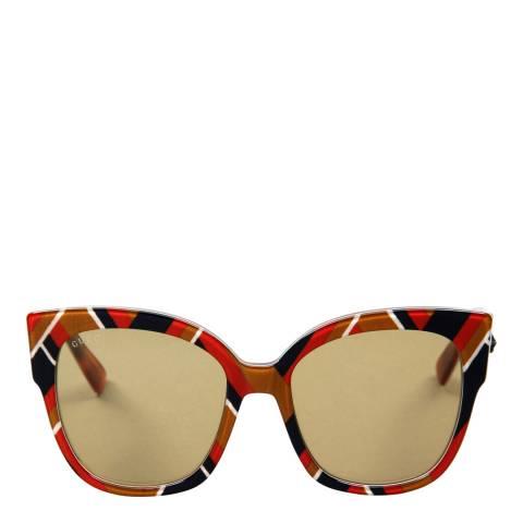 Gucci Women's Multi Coloured Sunglasses 55mm