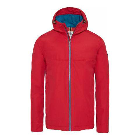Timberland Red Packble Jacket
