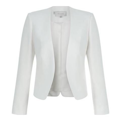 Hobbs London Ivory Alwena Jacket