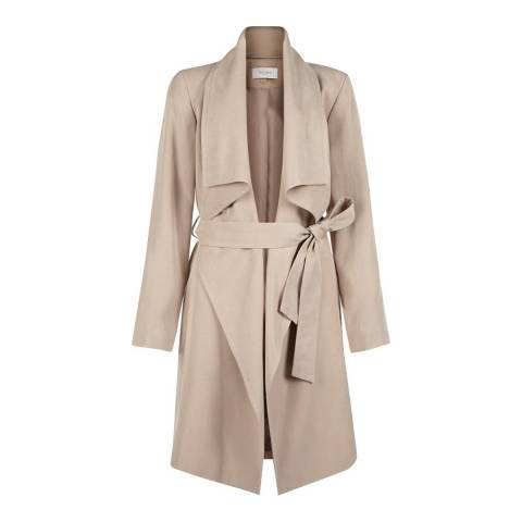 Hobbs London Beige Laurie Coat