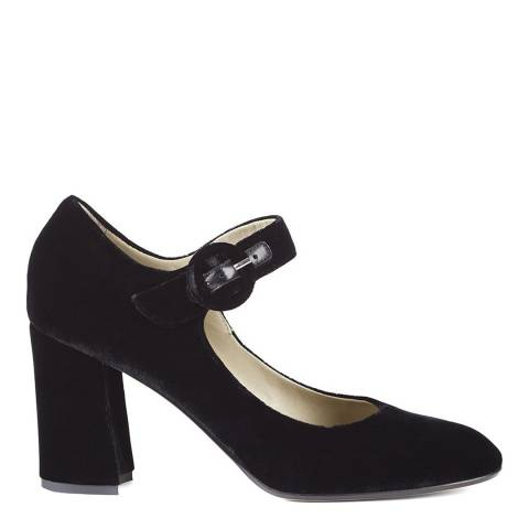 Hobbs London Black Velvet Aurora Court