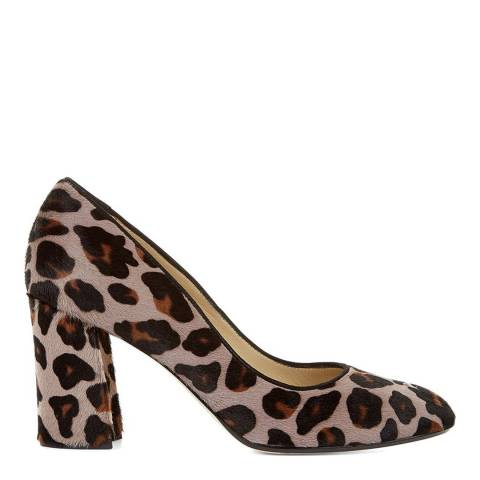 Hobbs London Mink Leopard Hannah Court