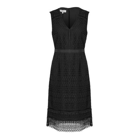 Hobbs London Black Billie Dress