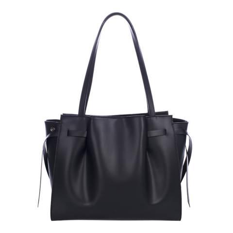 Lisa Minardi Black Leather Handbag