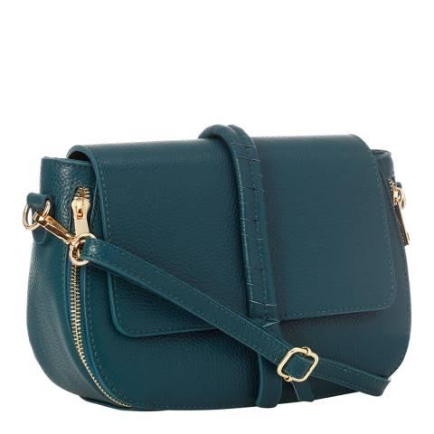 Lisa Minardi Dark Blue Leather Shopper Bag
