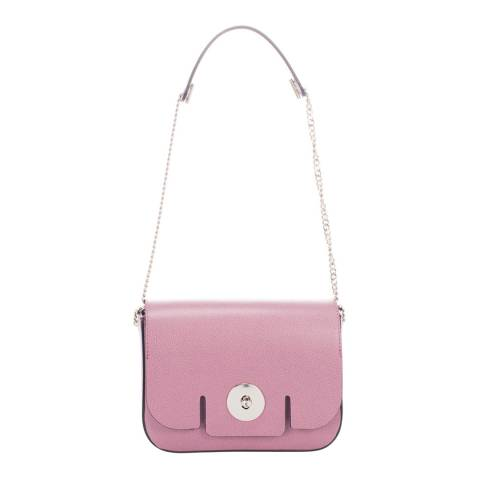 Giorgio Costa Pink Leather Shoulder Bag