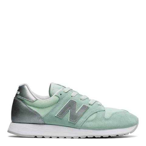 New Balance Women's Mint Green Suede 520 Trainers